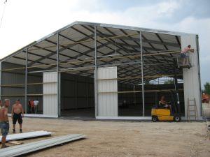 Estructura de acero personalizados/Almacén dosel taller de construcción o estructura de acero de compras en China