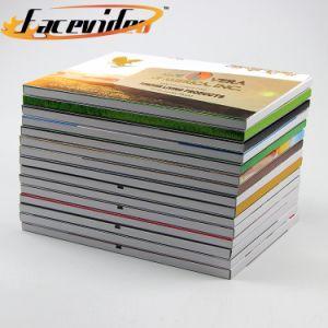 Design Personalizado Facevideo Colorido 10.1 polegadas LCD Media player de vídeo da marca Brochura Cartão de convite para Produto de cuidados da pele