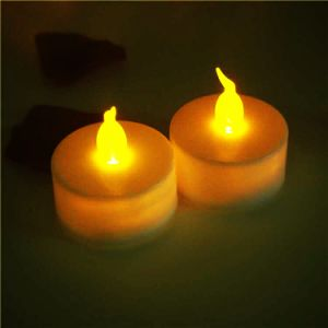 LED leuchtet Amazonas-Batterie-Kerzen durch