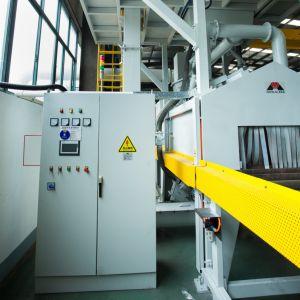 Дробеструйная Очистка Mayflay отделочную накатку машины для очистки поверхности стальной профиль /стальных пластин/H-лучей/стальные трубы/стальные катушки/Steel-Work