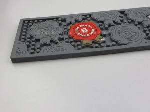 Barre de tapis en caoutchouc personnalisé en cas de déversement avec le logo de l'impression