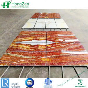 Wallのための軽量のFireproof Stone Honeycomb Panels