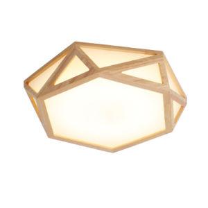 Hölzerne LED Decken-Lampe des modernen einfachen Wohnzimmer-Gaststätte-Studien-Schlafzimmer-Balkon-
