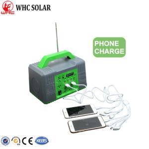 Populares 10W Mini Sistema Solar cargador de móvil para uso doméstico