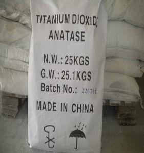 Haut degré de blancheur d'alimentation de dioxyde de titane rutile et anatase TiO2