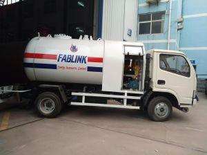 LPGのガスの交通機関および補充のための小型5m3 LPGのBobtailトラック