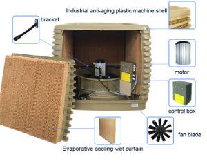 Industrielle Verdampfungsluft-Kühlvorrichtung mit Becken des Wasser-40L