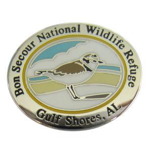 停止しなさい記念品(144)のための打たれた鉄によってカスタマイズされる各国用の野生生物の保護区の金属のバッジを