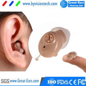 Protesi acustica di Cic Digitahi nascosta in orecchio per l'unità di udienza dell'amplificatore di perdita della capacità uditiva