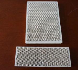 Brûleur à gaz infrarouge de la cordiérite Honeycomb plaque en céramique