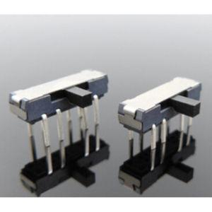 (押しSwtich)浸されたタイプ無鉛2つの列ピンを切替えなさい