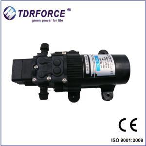Batterie avec un petit débit de pompe à diaphragme pour booster
