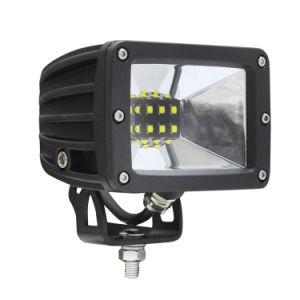 LED de luz da cena rígida Barra de Luz de condução do veículo 30W 5 Polegada