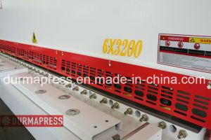 Macchina di taglio della ghigliottina QC12y-6X3000 per il taglio di alluminio delicato inossidabile