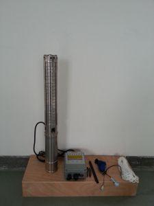 1.1kw (1.5HP) de ZonnePomp Met duikvermogen van het Water