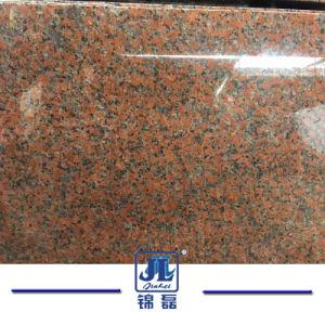 De opgepoetste/Gevlamde Tegel van de Steen van de Esdoorn van het Graniet Rode G562 voor Openlucht/Binnen