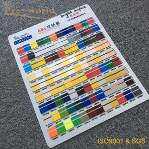 Het roterende ABS Dubbele Blad van de Kleur voor de Reclame van Teken