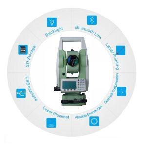 Reflectorless 400m Total Station à l'instrument d'arpentage Bluetooth