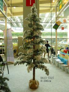 6.5FT PE большие искусственные елки для украшения
