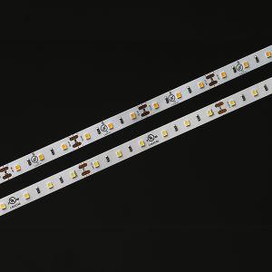 Il Ce Epistar dell'UL 2835 60LEDs 14.4W 24V 3000K impermeabilizza l'indicatore luminoso di striscia di IP66 IL LED LED