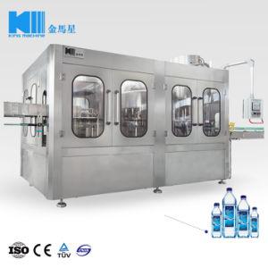 8000bph automatische Bottelende het Vullen van de Drank van de Energie van het Sap van het Mineraalwater van de Fles van het Glas van het Huisdier Zuivere Machine