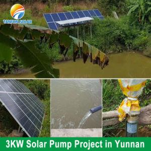 Fase 3, con inversor de la bomba solar MPPT y sistema VFD 4HP 3kw