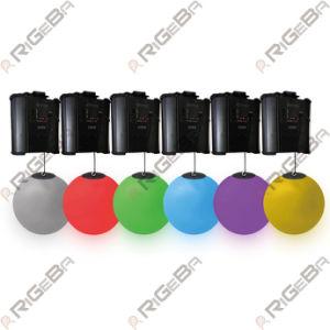 DJ 디스코 단계 당 사건을%s DMX 윈치 활동적인 LED 드는 공의 아래 최신 판매 Rigeba 파 효력 다채로운 3D 위로