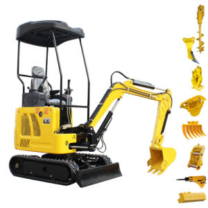 Marcação EPA Envio gratuito China novas pequenas escavadoras hidráulicas miniescavadora Digger 1 Ton 2 Ton 3 Ton 6 Ton Recolhedor Escavadeira Barato preço de venda