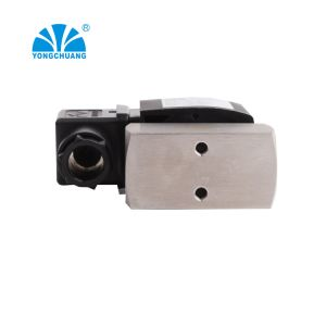 O ar de baixa pressão em aço inoxidável de Silicone Normalmente Fechada da válvula solenóide 24V para uso do Ventilador