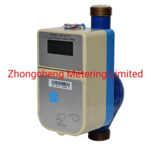 Prepago de tarjeta IC inteligente Contador de agua