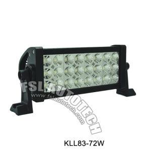 Kll83-72W Auto LEIDENE van de Rij van de Auto Drievoudige Lichte Staaf
