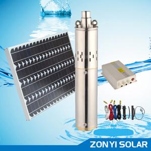 80W/150W/250W/500W-750W/1000W DC sin escobillas bomba de pozo Solar