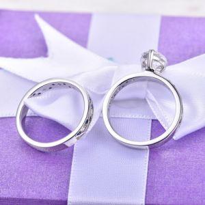大気約束925の銀製のリングの一定の宝石類