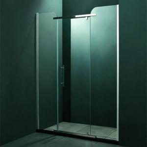 De hete Deur van het Glas van de Douche van het Glas van de Verkoop Veiligheid Aangemaakte Glijdende (SR9D014)
