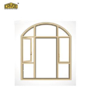 Cayoe Aluminiumflügelfenster-schiebendes Außenfenster mit speziellem Aussehen