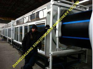 Tuyau de HDPE de ligne de production/ PE tuyau tuyau/usine de fabrication de l'extrudeuse/ PE Making Machine/PEHD du tuyau de l'Extrusion du tuyau de la machine