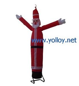 サンタクロースのクリスマスのための膨脹可能な空気空のダンサー