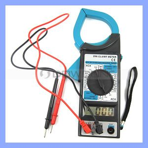 Digital-Rohrschelle-Messinstrument WS-Gleichstrom-Volt-Messinstrument-Voltmeter-Ohmmeter