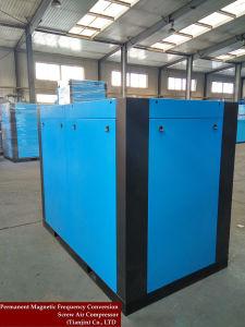 L'air de refroidissement du ventilateur du compresseur à air rotatif de façon industrielle