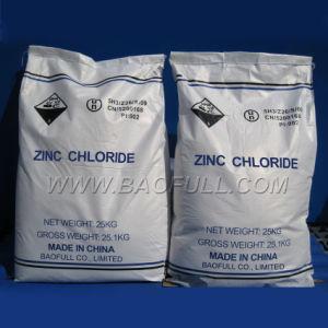 Het Chloride van het Zink van Indurstrial voor Materiële SGS van de Batterij Test 98%
