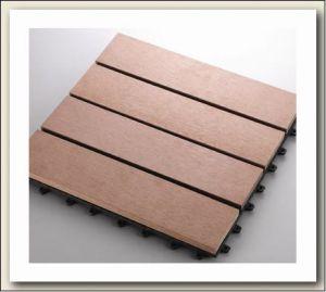 WPC Outdoor Flooring Tile/WPC Mosaico bricolage
