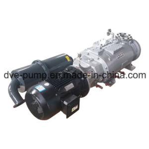 Vis de la pompe à vide à sec utilisé pour les processus de distillation