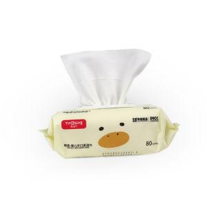 Оптовая торговля влажной ткани природных малыша салфетки детские товары