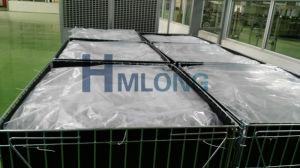 Entrepôt de Wire Mesh de pliage conteneur en métal/cage avec feuille de PP