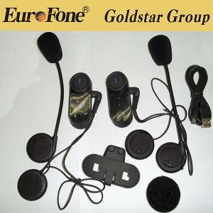 1000м беспроводной технологией Bluetooth USB Motercycle Interphone селекторной связи для шлем