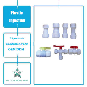 صنع وفقا لطلب الزّبون صناعيّة أجزاء بلاستيكيّة صليب يرحل [بيب فيتّينغ] بلاستيكيّة حقنة قولبة