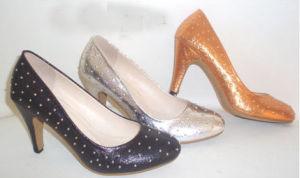Lady haut talon chaussures noir
