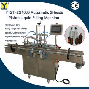 Yt2T-2g entièrement automatique Drip-Proof 2 buses de la tête de la machine de remplissage de liquide pour l'eau de l'alcool flacon pulvérisateur d'huile de machine de remplissage