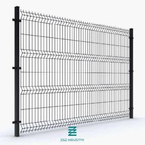 Clôture de sécurité Treillis Soudés 3D du panneau de clôture de l'Escrime