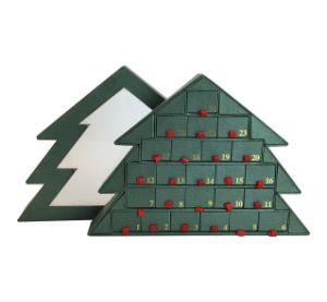 Carton cadeau de Noël Forme d'arbre/Dessert/papier/Emballage/emballage/la boîte de chocolat